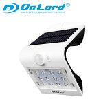 ソーラーライト 屋外 人感 センサーライト おしゃれ LED (OL-304W Plus) ウォールライト オンロード 送料無料 (沖縄除く)