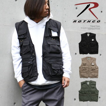 Rothco/ロスコ UNCLE MILTY TRAVEL VEST