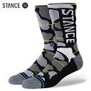 STANCE OG CAMO インフィニット ソックス ブラック 靴下 黒 INFIKNIT SOCKS Black スタンス