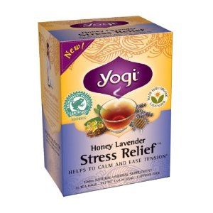 茶葉・ティーバッグ, ハーブティー Yogi Tea 16 Honey Lavender Stress Relief