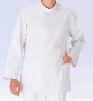 ! White Casey examination cloth white doctor coat for men long sleeves short sleeve