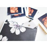 母子手帳ケースLサイズジャバラ大容量出産祝いかわいい通帳ケースカード入れ整理収納花柄レモンラフランスマルチケース二人用出産準備男の子女の子ギフトボタニカルBOTANY&WATERCOLORS