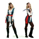 【CityGirl】ハロウィン コスプレ カリブ 海賊 ワンピース アイドル コスプレ衣装 仮装 舞