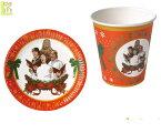 GOODS スターウォーズ クリスマスパーティセットSTAR WARS コップ お皿 雑貨 グッズ おもちゃ トイ クリスマス パーティ イベント キャラ HALLOWEEN かわいい 今年のクリスマスはスターウォーズで盛り上がろう