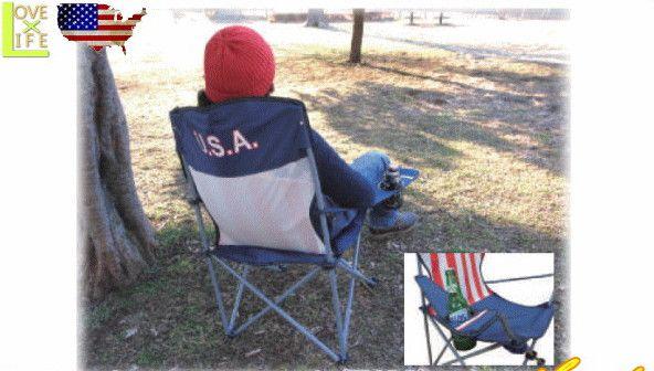 【アメリカン雑貨】【USA FLAG SERIES】アウトドアチェアー【USA FLAG】【アウトドア】【イス】【キャンプ】【雑貨】【アメリカ雑貨】【アメリカ】【星条旗】【USA】【かわいい】【おしゃれ】