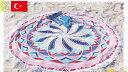 【トルコ製】【オリジナル】ラウンドビーチタオル【ガイア】【海水浴】【海】【プール】【レジャー】【ブランケット】【大き目】【グッズ】【タオル】【かわいい】