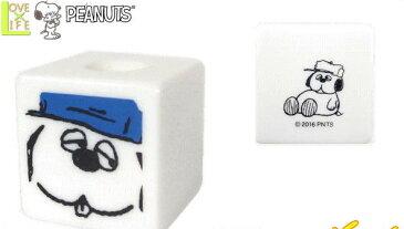 【スヌーピー】【SNOOPY】キューブスタンド【オラフ】【ピーナッツ】【歯ブラシ置き】【ペン立】【歯ブラシスタンド】【洗面所】【歯みがき】【生活雑貨】【グッズ】【かわいい】