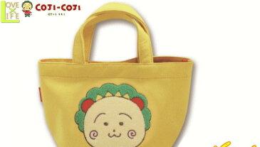 【コジコジ】【KOJI-KOJI】スウェットランチバッグ【コジコジ黄色】【ケース】【バッグ】【遠足】【ランチグッズ】【アイテム】【スクール雑貨】【さくらももこ】【アニメ】【かわいい】