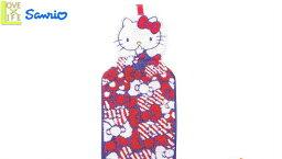 【送料無料】【ハローキティ】マスコット付きドレスタオル【リボンアップ】【タオル】【Kitty】【キティ】【キティちゃん】【キッチン】【洗面】【掛タオル】【たおる】【グッズ】【サンリオ】【贈り物】【かわいい】