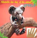 コアラ リング アニマル 指輪 フリーサイズ 指輪 動物 サイズ調整 ...
