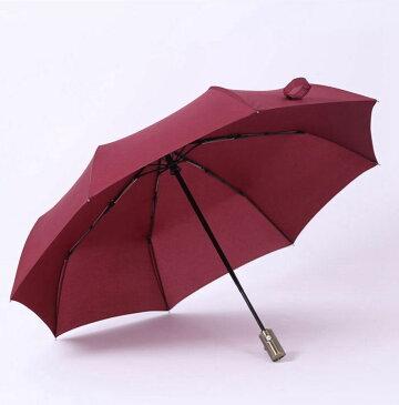 折りたたみ傘 雨傘 傘 無地 自動開閉 紳士用 梅雨 和傘 和風 おしゃれ 超撥水 耐風 頑丈 8本骨 大きい傘 晴雨兼用 耐風 遮熱 遮光 メンズ レディース UVカット 収納ポーチ付き 女性 男性 婦人 紳士 レディース メンズ