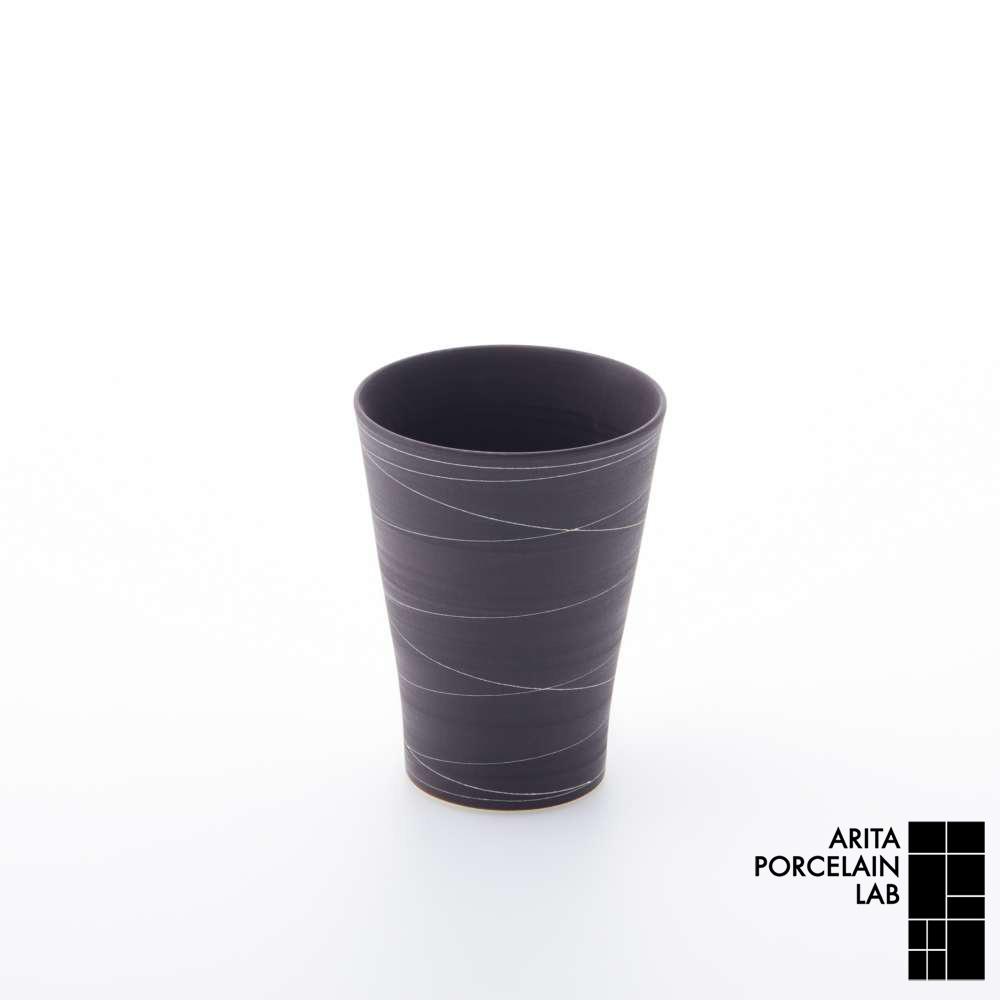和食器 焼酎グラス STANDARD SABI フリーカップ 錆線紋 和モダン ブランド 食器 食器ギフト コーヒーカップ お中元 アリタポーセリンラボ