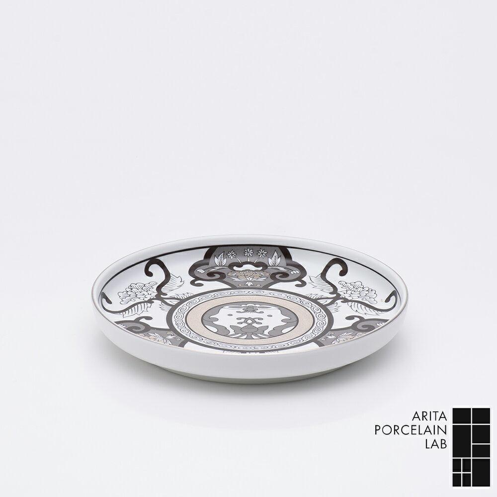 有田焼 皿 JAPAN SNOW 和皿19cm 古伊万里草花紋 和食器 おしゃれ 和食器 ギフト