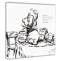 【アートデリ】くまのプーさんのアートパネル