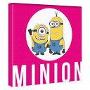 【アートデリ】ミニオンのファブリックボード インテリア 雑貨 アート グルー ミニオンズ min-0009-pnk