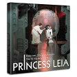 【アートデリ】「プリンセス・レイア」スターウォーズのファブリックボード インテリア アート 雑貨