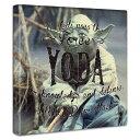 【アートデリ】「ヨーダ」スターウォーズのファブリックボード インテリアアート雑貨