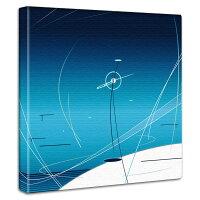 【アートデリ】「ネジ廻しの行方」のファブリックボード