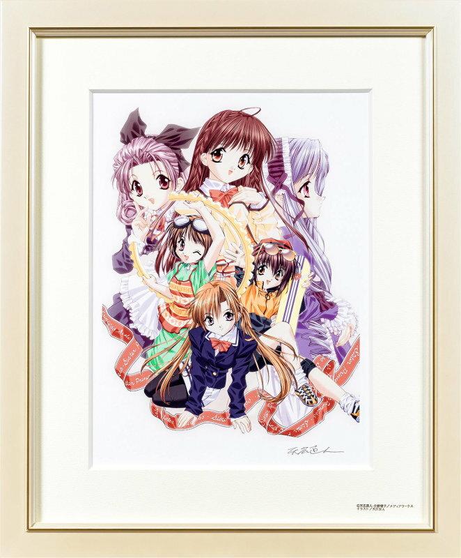 產品詳細資料,日本Yahoo代標|日本代購|日本批發-ibuy99|興趣、愛好|藝術品、古董、民間工藝品|【版画】【中古】 DEAR MY SISTERS I (RED) ミックスドメディア 本人 鉛筆 …