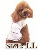 送料無料 ASHU クーリングノースリーブLL 中型犬 シュナウザー UVカット 速乾 透湿のクールシャツ ペットの暑さ対策に ドッグブランドASHUドッグウェア ウェア 服 柴犬 コーギー 熱中症対策 犬用 ペット用品 熱射病 対策 ドッグ