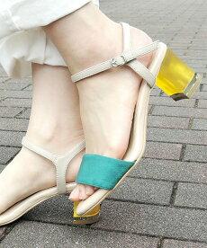 クリアヒールサンダル送料無料【miniaミニア18SS新作】ストラップサンダルサンダルレディースシューズ靴