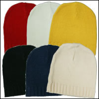 お散歩ニット帽カラー:レッド