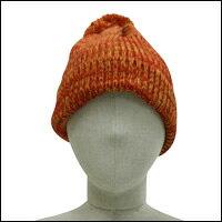 ミックスカラーボンボンニット帽カラー:ブルーミックス