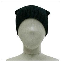 お散歩ニット帽カラー:ブラック