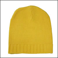 お散歩ニット帽カラー:イエロー