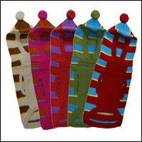 フード付きのボーダー柄 ニット(セーター)。可愛い配色を5パターン:人気シリーズ第五弾/対象...