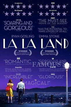 【映画ポスター】 ラ・ラ・ランド La La Land /おしゃれ アート インテリア フレームなし /評価 両面
