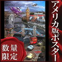 【映画ポスター】カーズ2 (ディズニー グッズ) /ロンドン版 ADV-DS