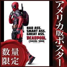 【映画ポスター】デッドプールグッズ(Deadpool)/INT-ADV-C両面
