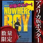 【映画ポスター】ノーウェアボーイ ひとりぼっちのあいつ /ジョン・レノン ビートルズ BEATLES グッズ 片面