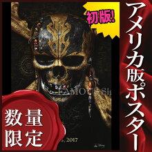 【映画ポスター】パイレーツ・オブ・カリビアン5最後の海賊グッズ/インテリアおしゃれ/ADV-両面