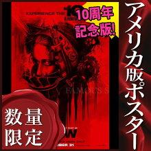 【映画ポスター】ソウSAWジェームズ・ワン/ホラーインテリアアートフレームなし/10周年記念両面
