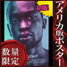 【映画ポスター】ムーンライトMoonlight/おしゃれインテリアアートフレームなし/批評版片面