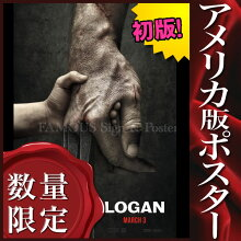 【映画ポスター】LOGANローガンウルヴァリン3X-MENグッズ/アメコミインテリアおしゃれフレームなし/ADV-両面