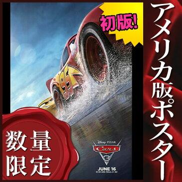 【映画ポスター】 カーズ クロスロード CARS 3 ディズニー ピクサー グッズ /アニメ インテリア おしゃれ フレームなし /ADV-B-両面