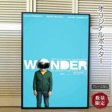 【映画ポスター】ワンダーWonderジュリア・ロバーツ/インテリアおしゃれアートフレームなし/片面