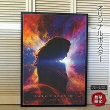 【映画ポスター】X-MEN:ダーク・フェニックスグッズ/マーベルアメコミインテリアおしゃれフレームなし/dateADV-両面オリジナルポスター
