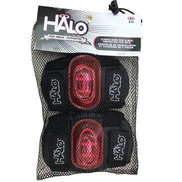 【土日もあす楽】キックボードプロテクター ひじ ひざ 2点セット HALO ハロ プロテクター スケートボード キックボード エルボーガード ニーガード