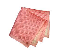 ポケットチーフ シルクチーフ メンズ 紳士 Silk 英国 マイケルソン of ロンドン 大判 4Pattern/Pink Size40x40cm C153
