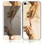 【お取寄せ】 iPhone7 7 Plus スキンシール DecalSkin [AT44/アダムの創造] デコシール デコシート 背面シール iPhone 7 7Plus iPhone7Plus 送料無料
