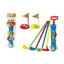 ゴルフプレイセット ドライバー、アイアン、パター、カップ、ボール4個付き 子供用ゴルフクラブのおもちゃ