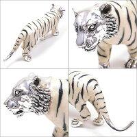 サツルノ:虎のシルバーオブジェ