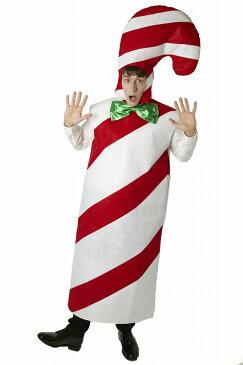 【クリスマス コスプレ】キャンディマン 【送料無料】男性用 サンタ サンタクロース 衣装 仮装 コスチューム キャンディ 面白 店舗 販促用 販売促進 キャンペーン おもしろ メンズ 宴会 忘年会 サンタコス ケーキ 誕生日