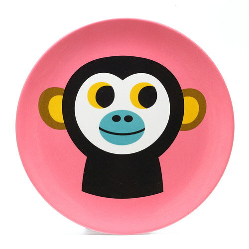 食器, 皿・プレート OMM DESIGN MELAMINE PLATE MONKEY OMM AS