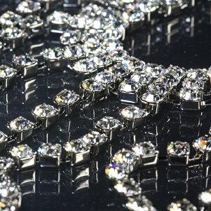 スワロフスキーゴージャスチョーカーネックレスウェディングブライダル結婚式RS9-10ネックレスバレエ舞台10P10Jan15