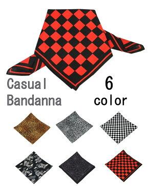 バンダナ 日本製 マスク代用 スカーフ 日よけ カチューシャ ハンカチ フェイスマスク ロックファッション/6カラーメール便可